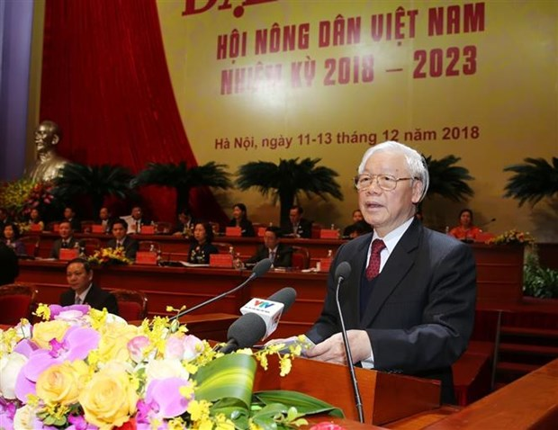 Khai mac Dai hoi dai bieu toan quoc Hoi Nong dan Viet Nam lan thu VII hinh anh 3