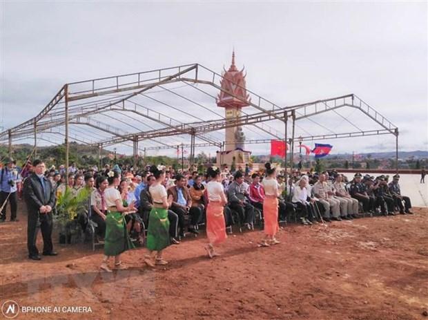 Khanh thanh Dai Huu nghi Viet Nam-Campuchia tai tinh Mondolkiri hinh anh 1