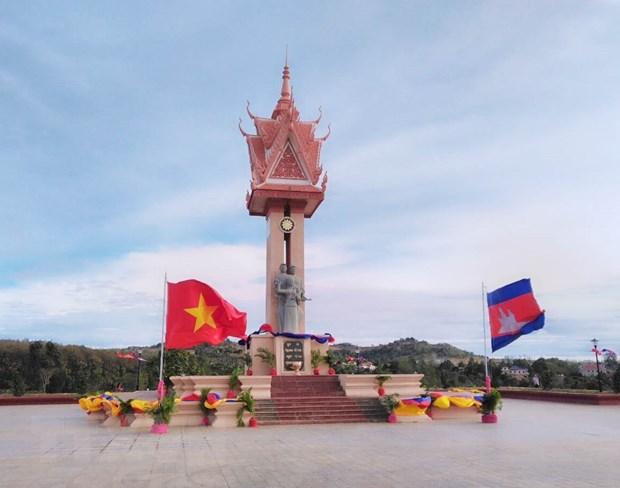 Khanh thanh Dai Huu nghi Viet Nam-Campuchia tai tinh Mondolkiri hinh anh 2