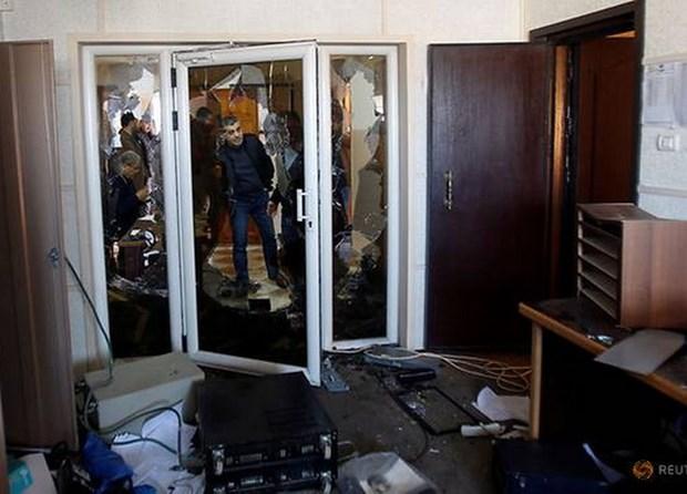 Hamas bat 5 nghi pham tan cong van phong Dai truyen hinh Palestine hinh anh 1