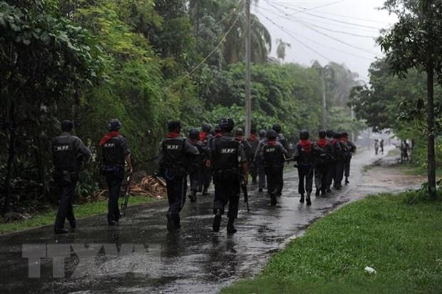 Myanmar se trien khai chien dich tran ap phien quan o bang Rakhine hinh anh 1