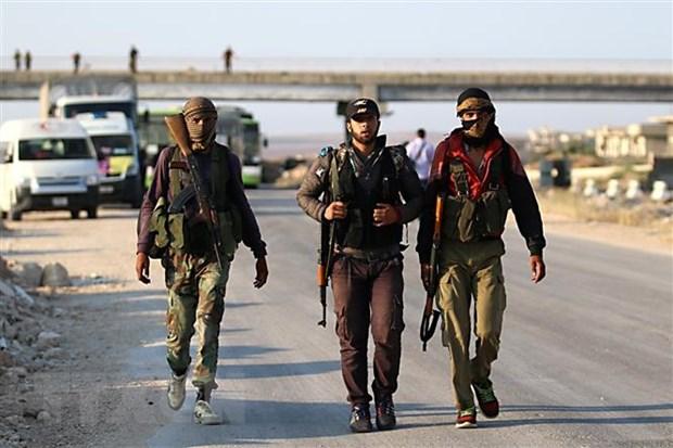 Luc luong noi day Syria rut khoi cac khu vuc dong quan o Idlib hinh anh 1