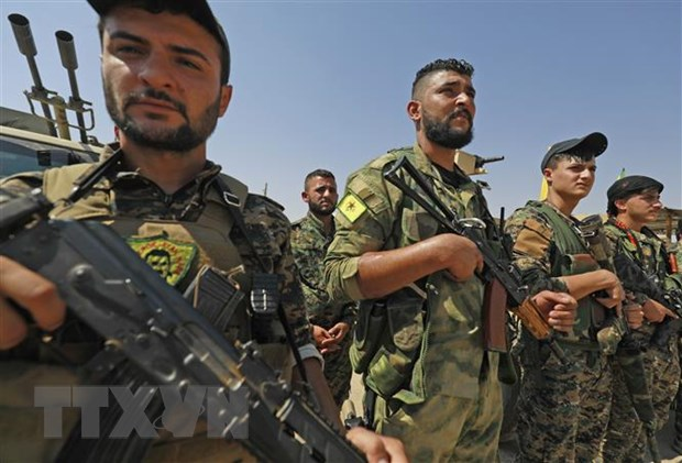 My muon thao luan voi Nga ve viec bao ve nguoi Kurd tai Syria hinh anh 1