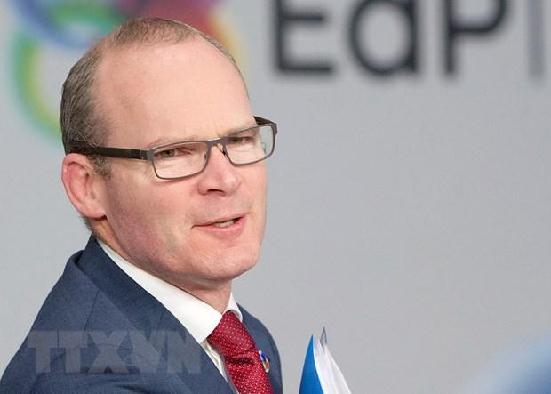 EU-Ireland ran nut quan he xung quanh van de duong bien gioi cung hinh anh 1