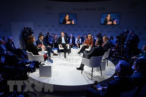 Dien dan Davos 2019: 75 nuoc bat dau dam phan ve thuong mai dien tu hinh anh 1