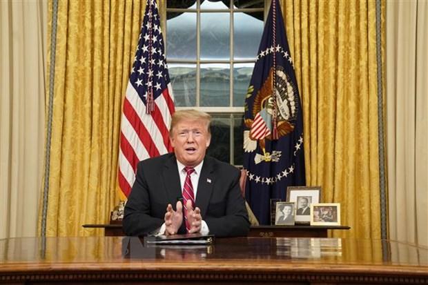 Tong thong My Donald Trump mong muon cai thien quan he voi Nga hinh anh 1