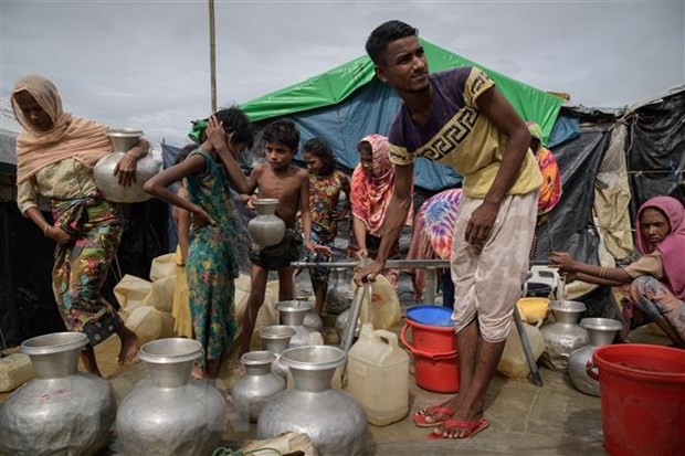 An Do-Bangladesh ban cach giai quyet van de nguoi ti nan Rohingya hinh anh 1