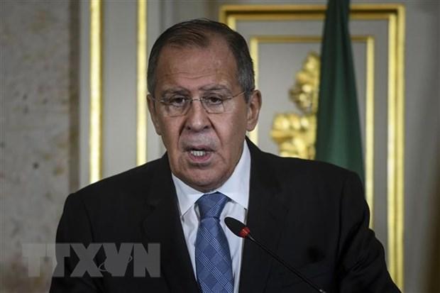 Ngoai truong Lavrov: Trung phat Nga xuat phat tu suc ep manh me cua My hinh anh 1