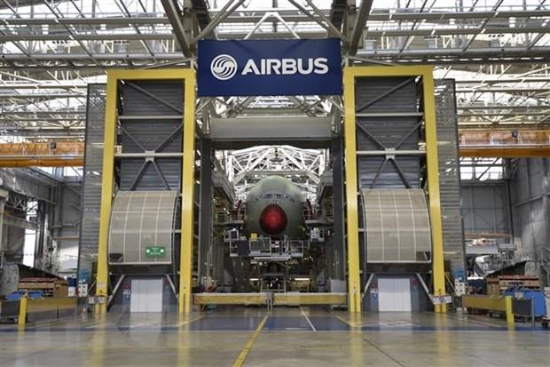 Hang Airbus chi hang chuc trieu euro de chuan bi cho Brexit hinh anh 1