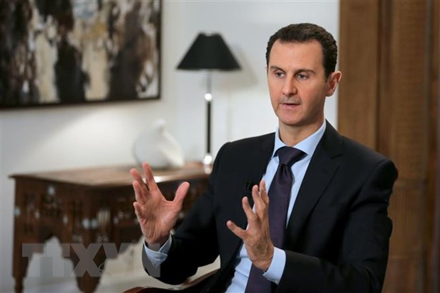 Tong thong Assad canh bao khong duoc phep mac ca hien phap Syria hinh anh 1