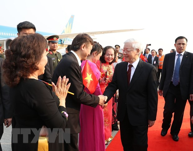 Tổng Bí thư, Chủ tịch nước bắt đầu thăm hữu nghị chính thức Lào - 1
