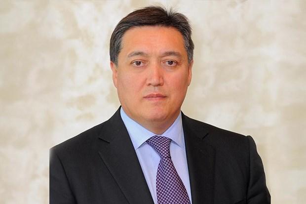 Ong Aska Mamin duoc bo nhiem lam tan Thu tuong Kazakhstan hinh anh 1