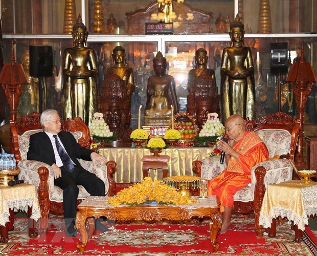 Toan van Tuyen bo chung CHXHCN Viet Nam-Vuong quoc Campuchia hinh anh 2