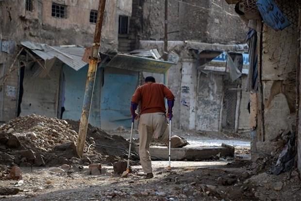 Iraq: Danh bom xe ben ngoai nha hang o Mosul gay nhieu thuong vong hinh anh 1