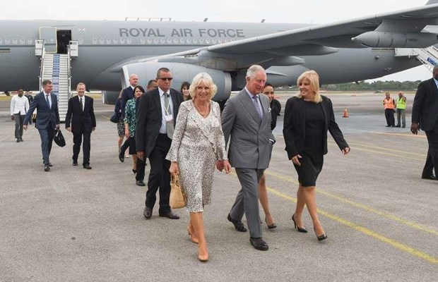 Thai tu Anh Charles va phu nhan Camilla tham chinh thuc Cuba hinh anh 1