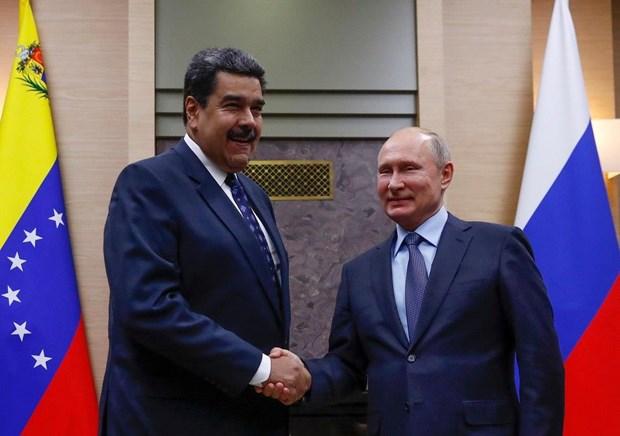 Nga bac bo loi keu goi cua My ve viec rut khoi Venezuela hinh anh 1