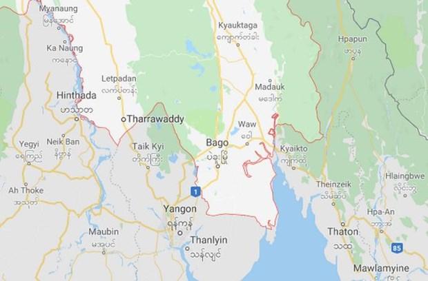 Myanmar: Oto tai lao xuong hem nui lam 40 nguoi thuong vong hinh anh 1