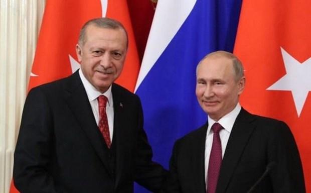 Tong thong Tho Nhi Ky Tayyip Erdogan tham chinh thuc Nga hinh anh 1