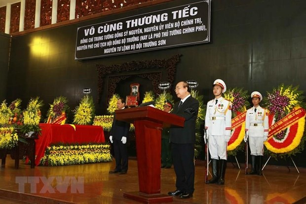 To chuc trong the Le truy dieu Trung tuong Dong Sy Nguyen hinh anh 2