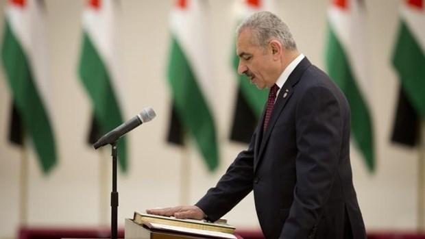 Palestine: Tan Thu tuong Mohammed Ishtaye tuyen the nham chuc hinh anh 1