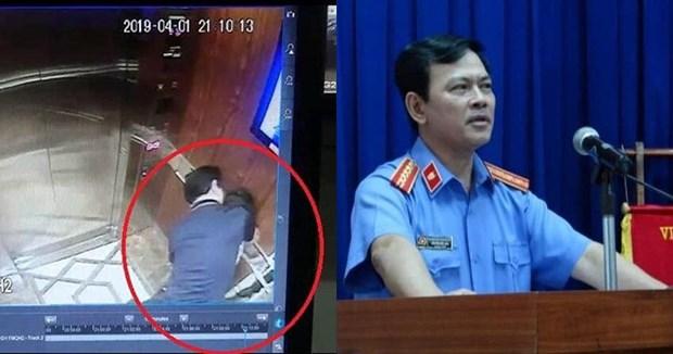 [Video] Khoi to Nguyen Huu Linh vi dam o be gai trong thang may hinh anh 1