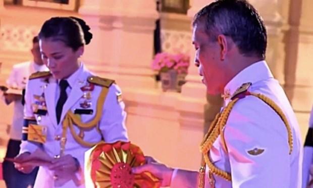 Ba Suthida Vajiralongkorn na Ayudhya duoc phong lam Hoang hau Thai Lan hinh anh 1