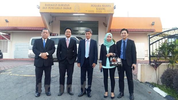 Malaysia: Doan Thi Huong roi khoi nha tu o bang Selangor hinh anh 1