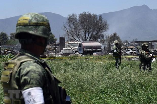 Mexico: No co so san xuat phao hoa khien 5 nguoi thuong vong hinh anh 1