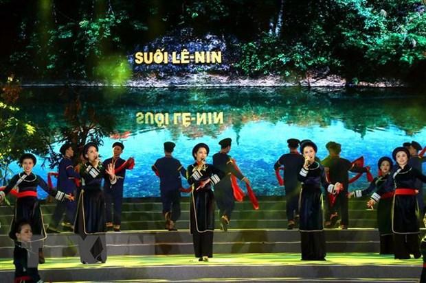 """Chuong trinh nghe thuat dac biet """"Ho Chi Minh dep nhat ten Nguoi"""" hinh anh 1"""