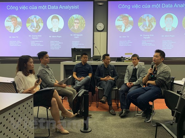 Sinh vien Viet Nam tai Australia toa dam ve cong nghe 'Big Data' hinh anh 1