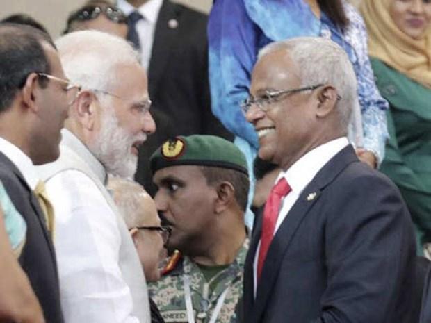 An Do day manh hop tac quoc phong va hang hai voi Maldives hinh anh 1