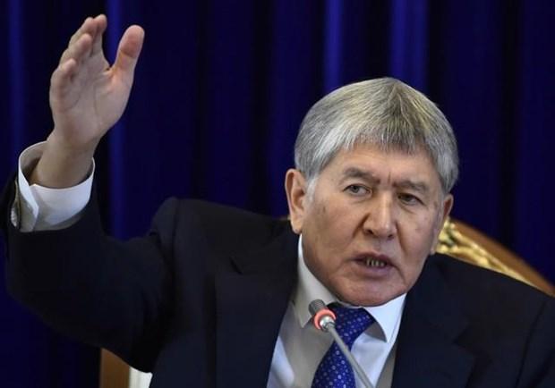 Cuu Tong thong Kyrgyzstan bi cao buoc toi danh tham nhung hinh anh 1