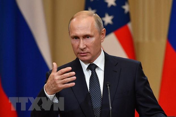 Tong thong Nga Putin khang dinh khong muon trung phat Gruzia hinh anh 1