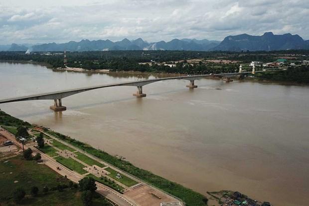 Thai Lan: Muc nuoc song Mekong xuong thap nhat trong 10 nam hinh anh 1