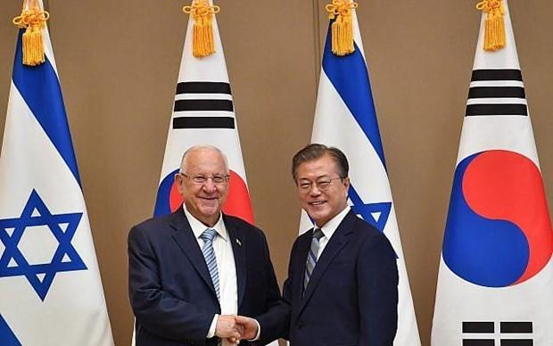 Israel va Han Quoc ky nhieu thoa thuan hop tac song phuong hinh anh 1