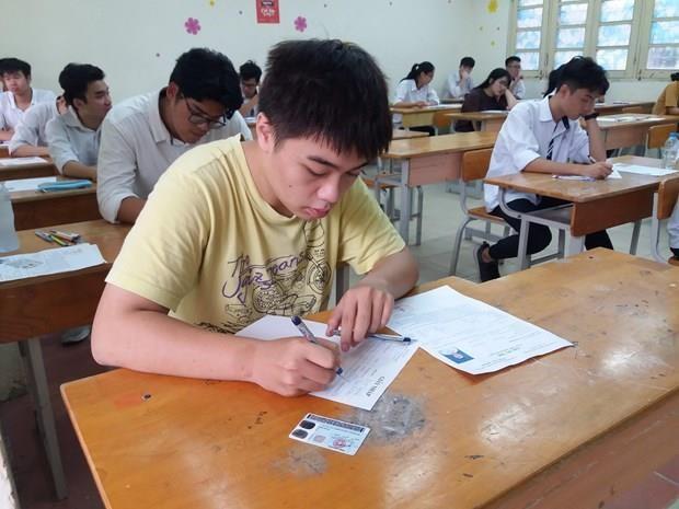 Tay Ninh: 58 bai thi diem 0 duoc tang diem sau khi cham phuc khao hinh anh 1