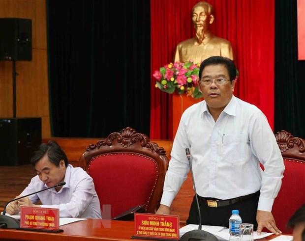 Hoi nghi lan thu 17 Ban Chap hanh Dang bo Khoi cac co quan Trung uong hinh anh 1