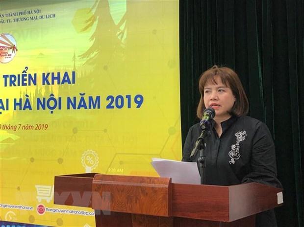 Giam gia toi 100% trong chuong trinh Thang khuyen mai Ha Noi 2019 hinh anh 1