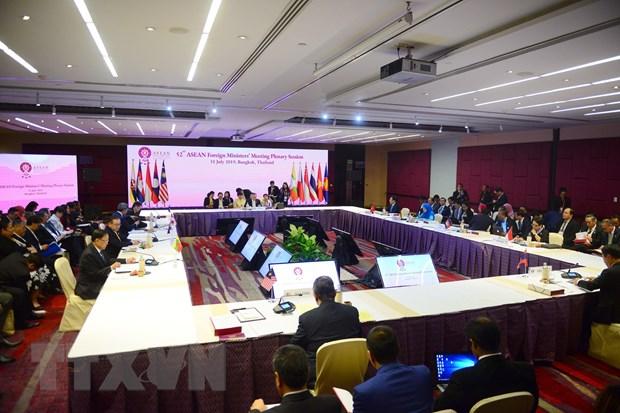Khai mac Hoi nghi Bo truong Ngoai giao ASEAN lan thu 52 hinh anh 1