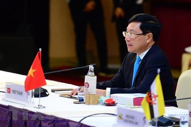 Khai mac Hoi nghi Bo truong Ngoai giao ASEAN lan thu 52 hinh anh 2