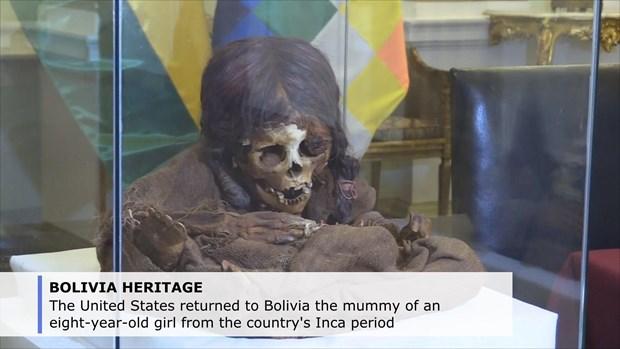 Bolivia tiep nhan lai xac uop cua mot be gai 8 tuoi thuoc thoi Inca hinh anh 1