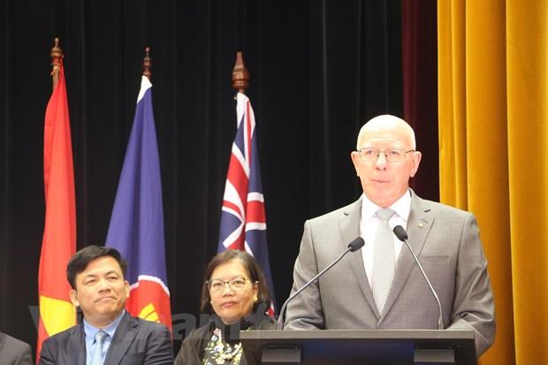 Trang trong Le ky niem 52 nam thanh lap ASEAN tai Australia hinh anh 1
