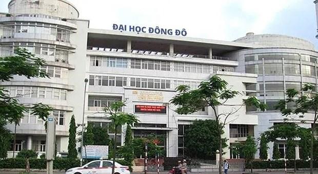 Truong Dai hoc Dong Do chua duoc cap phep dao tao van bang 2 hinh anh 1