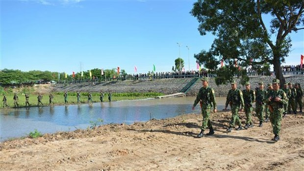 Khanh thanh Nha van hoa huu nghi bien gioi Viet Nam-Campuchia hinh anh 1