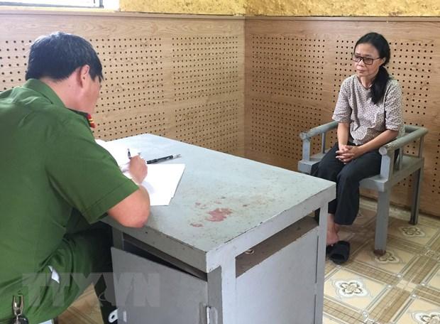 Quang Binh: Khoi to ke toan va thu quy tham o Quy Bao tro tre em hinh anh 1