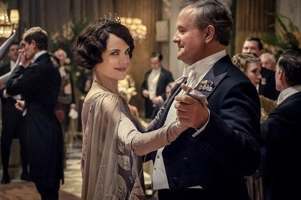Phien ban dien anh 'Downton Abbey' danh bai phim cua Brad Pitt hinh anh 1