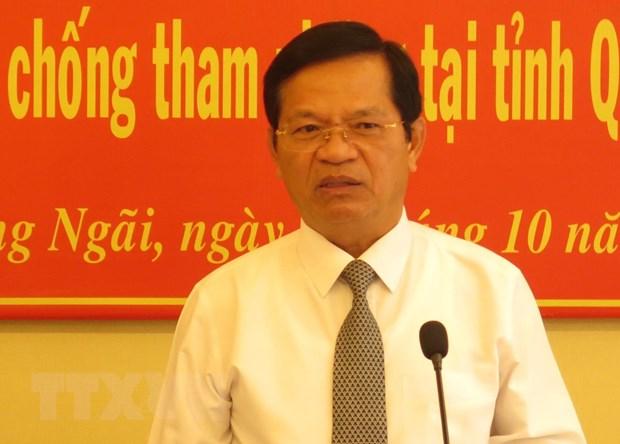 Bi thu Tinh uy Quang Ngai doi thoai ve Du an Nha may xu ly rac thai MD hinh anh 1