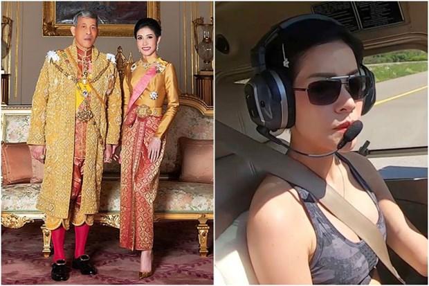 Nha vua Thai Lan tuoc bo moi tuoc hieu cua Hoang quy phi Sineenat hinh anh 1