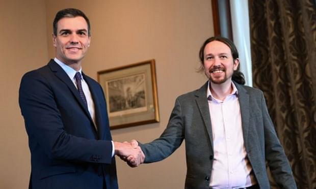 Tay Ban Nha: Dang PSOE va dang Unidas Podemos lap chinh phu lien minh hinh anh 1