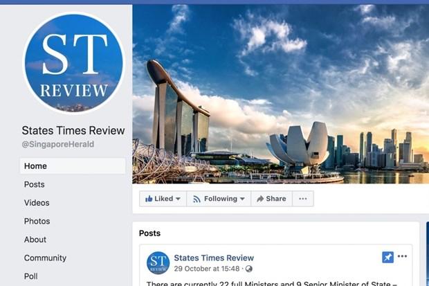 Singapore yeu cau Facebook phai dinh chinh thong tin khong chinh xac hinh anh 1